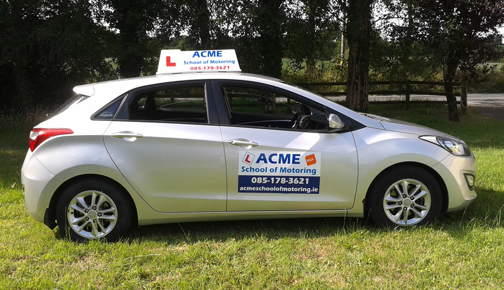 Book your next driving lesson at ACME School of Motoring Cavan